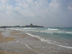 Atlit beach