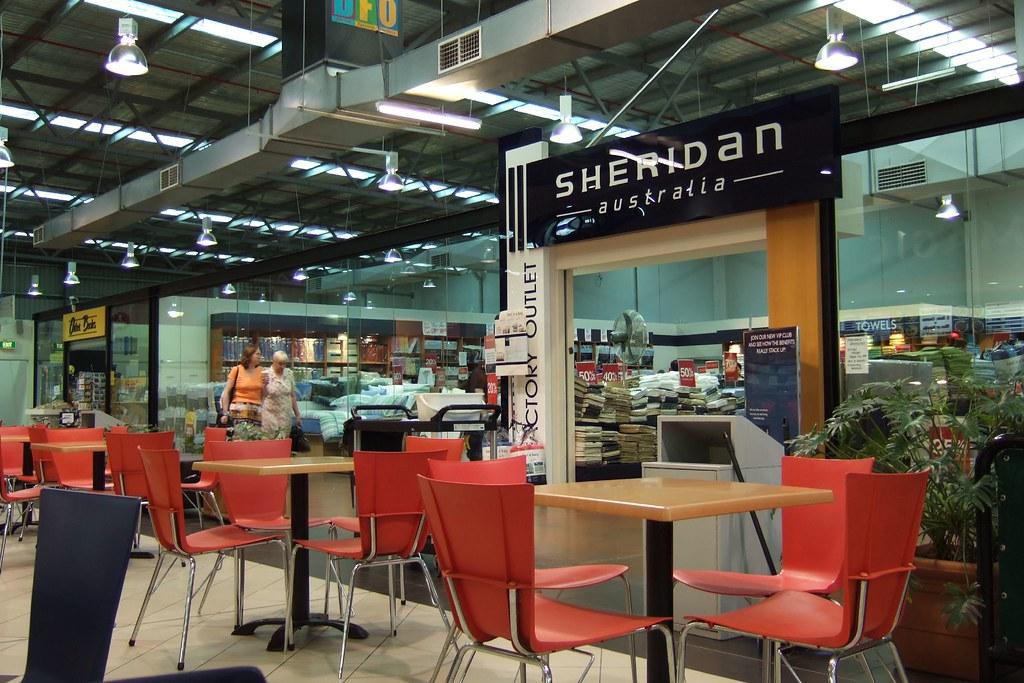 sheridan factory outlet, DFO, Moorabbin