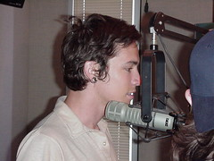 Brandon Boyd of Incubus (mrbaseball2usa) Tags: 2001 portrait radio interestingness al birmingham live candid sony profile contest alabama vocalist microphone mic incubus interview radiostation leadsinger brandonboyd birminghamal bmg frontman alternativerock altrock interestingness351 i500 sonybmgmusic liveinterview dirklance alexkatunich rock973