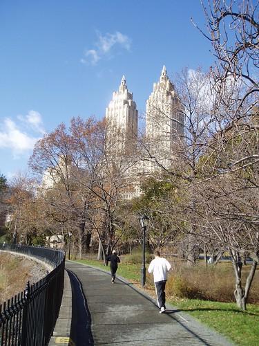 Correndo no Central Park
