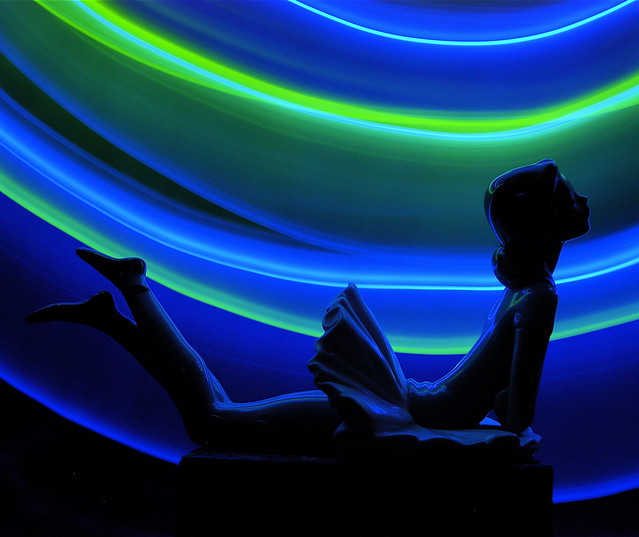 Light Painting #47 (Statuette)