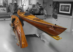 Wooden Kayaks (chowitt) Tags: boat kayak victoria woodboat