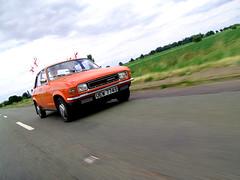 Allegro action (Rich007) Tags: uk greatbritain england classic car austin classiccar unitedkingdom gb vehicle fens cambridgeshire leyland allegro britishleyland austinallegro