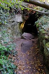 Fin de la visite (Ombre&Lumiere) Tags: châteauduvieuxwindstein basrhin patrimoine vestiges ruines rochers vosgesdunord parcnaturelrégionaldesvosgesdunord 67
