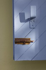 Shutter (Explore) (G-daddyArt) Tags: britishvirginislands bvi tortola nannycay marina bareboat charter sailing shutter wall lock texture wood latch stucco