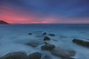 Cote d'Opale (Dariusz Wieclawski) Tags: zf2 sunset dusk nikon nikondslrcarlzeiss nikond700 d700 zeiss zeissflenseszf availablelight rocks bluehour longexposure leefilters lee littlestopper glow citylights