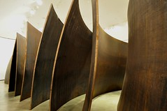 """La materia del Tiempo"", ""Serpiente"", Richard Serra, musée Guggenheim, Bilbao, Biscaye, Pays Basque, Espagne. (byb64) Tags: bilbao bilbo biscaye viscaya bizkaia biscay biscaglia paysbasque euskadi euskalherria paisvasco espagne espana spain spagna spanien europe europa eu ue nervion muséeguggenheim museoguggenheim guggenheim gehry frankgehry musée museo museum bi architecture arquitectura arquitettura xxe 20th novecento lamateriadeltiempo thematteroftime richardserra serra acier acero aciercorten sculpture escultura"