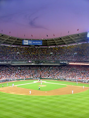 Nationals Vs. Dodgers (JoshuaDavisPhotography) Tags: deleteme5 sunset deleteme8 sky people game deleteme deleteme2 deleteme3 deleteme4 deleteme6 deleteme9 deleteme7 grass evening washington baseball deleteme10 stadium welcome nationals ballpark dodgers rfk criticism ladodgers washingtonnationals enteritanment criticismwelcome articnomad