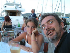 She is disgusted! (Snazzo) Tags: 2005 mediterranean croatia vis susanna vacanze holyday snazzo