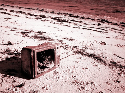 Throw Away Your Television by Roo Reynolds (flickr)
