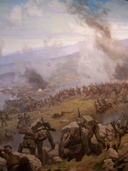 The War of Independence or Turkish National War -very little part of a magnificient panoramic paintings- (great photo for me) (bwv 1017) Tags: panorama art museum turkey painting war ataturk turkiye national independence ankara turkish anitkabir mustafakemal