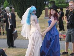Lesbian Zombie Wedding