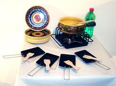Fondue, Raclette... (zipfel & frogi) Tags: liquidation birmensdorferstrasse199 hausrat raclette fondue recheau