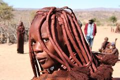 Himba girl (pietrolambert) Tags: africa people african culture tribal safari afrika tribe ethnic namibia tribo himba afrique ethnology tribu namibie tribus ethnie