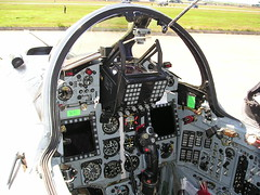 Cockpit of Romanian MIG 21 (Paul Beattie) Tags: cockpit visit gurevich mikoyan lossiemouth mig21 mikoyangurevich