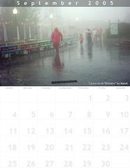 Calendario para Septiembre por Manel