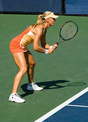 Elena Dementieva prepares to return serve (eugene) Tags: elena dementieva usopen tennis