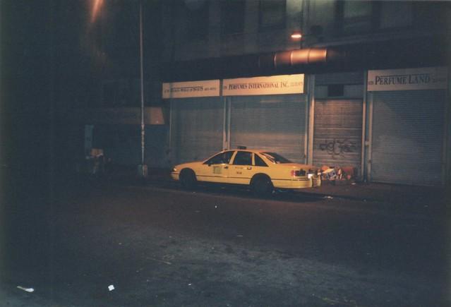 taxi cab nyc newyork newyorkcity manhattan chevy chevrolet caprice night