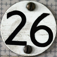 seat number 26