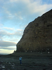 Jane and Rockface (NeilSmithies) Tags: k750i staithes rockface jane