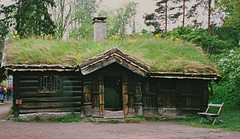 Sod Roofed Hut Norway (Atelier Teee) Tags: building freeassociation norway museum cabin folk hut logcabin sod sodroof atelierteee terencefaircloth