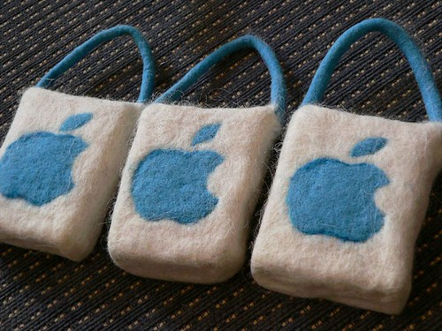 felted soap for apple macintosh user meeting