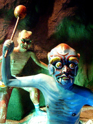 Demons in Buddhist Hell, Haw Par Villa (Tiger Balm Theme Park), Singapore