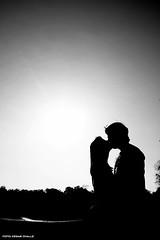 Beijo (Csar Ovalle) Tags: kiss beijo bw curitiba brasil brazil shadows silhouette