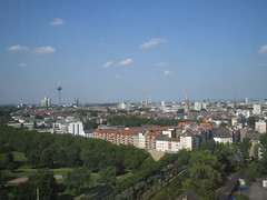 Cologne from above (Julia Janen) Tags: kln cologne germany panorama funkturm colonius fromabove vonoben