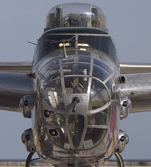B-25 Close-up (Andrew Morrell Photography) Tags: jets aviation planes military f16 f18 b25 b1 bomber fighter p51 stealth c117 kc135