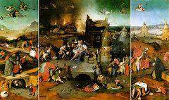 Temptation of St Anthony Bosch
