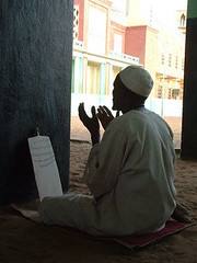 -Prayer- (Vt Hassan) Tags: africa people man topv111 muslim islam sudan prayer religion pray culture sufi sufism quran