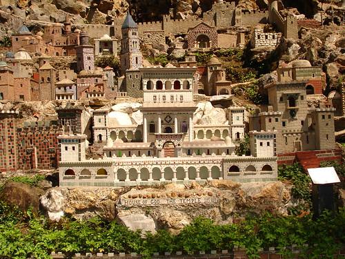 The Temple in Miniature at Ave Maria Grotto, Cullman AL
