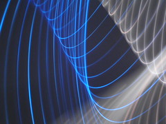 Camera Toss (_nod) Tags: cameratoss toss light ropelight ropelights lights blue white nod cameratossing tossing