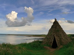 Smoke signals (Ray Byrne) Tags: uk sea england sky house clouds rural wow landscape coast countryside unitedkingdom britain country north northumberland hut shore bbc canon350d gb northern northeast howick dwelling landscapephotography raybyrne byrneout