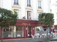 Restaurants, Puteaux, 2002 (Grbert) Tags: commerce restaurant france puteaux