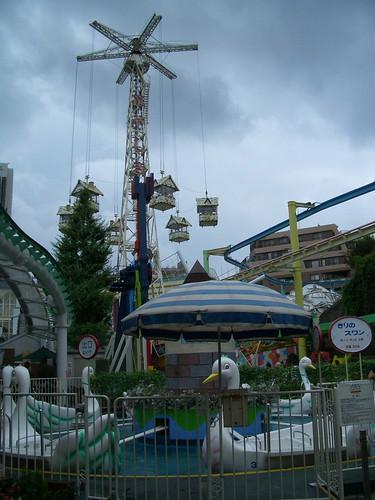 Asakusa Hanayashiki Amusement Park, Tokyo por Telstar Logistics.