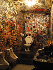 CBGB Bathroom by geeenta, on Flickr