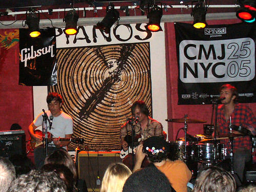 09-13 CMJ Grizzly Bear @ Pianos