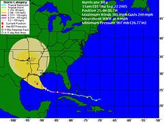 Rita 5-day Forecast
