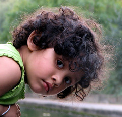 keen eyes (flappingwings) Tags: portrait girl child tc28closeup