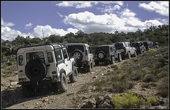 Day 2 - Lined Up (smenzel) Tags: 2005 utah v100 moab