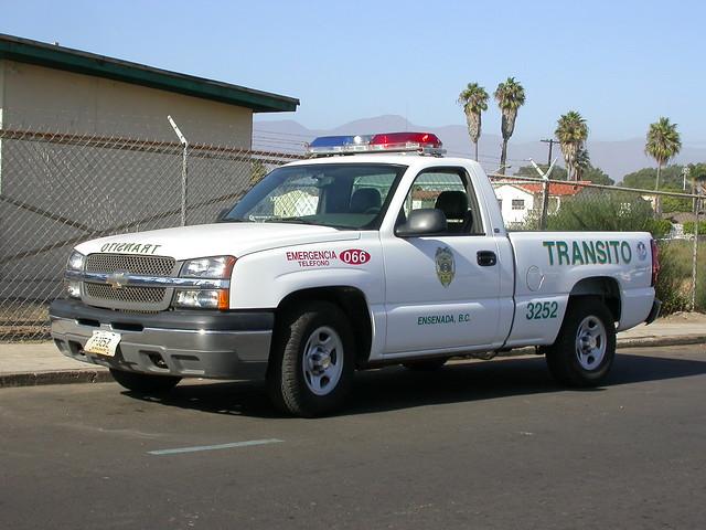 mexico baja bajacalifornia ensenada police chevrolet chevy pickup silverado