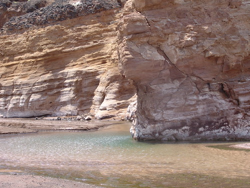 Hot springs, Lac Assal
