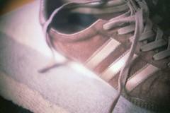 my worn shoe (dps) Tags: macro shoe brown