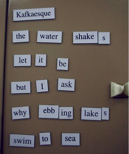 Magnetic Poetry #4