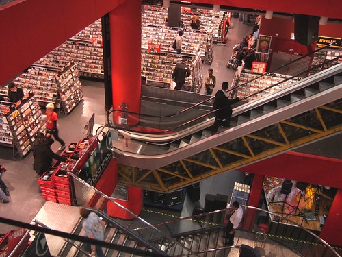 Now at Virgin Megastore looking for the Jerry Maguire DVD
