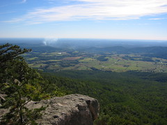 view from 2/3 the way up Old Rag Mountain (drewsaunders) Tags: engagement oldragmountain sarah drew