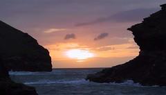 Boscastle Sunset (_dan_b_) Tags: sunset cornwall boscastle
