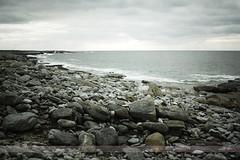Coastline, Inisheer, Aran Islands (Seven Seconds Before Sunrise) Tags: ocean travel ireland galway water clouds landscape rocks europe eire shore inisheer aran aranislands connacht